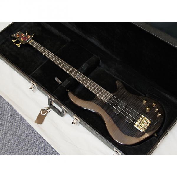 Custom DEAN Edge PRO 4-string BASS guitar NEW Trans Black w/HARD CASE - Neck-through #1 image