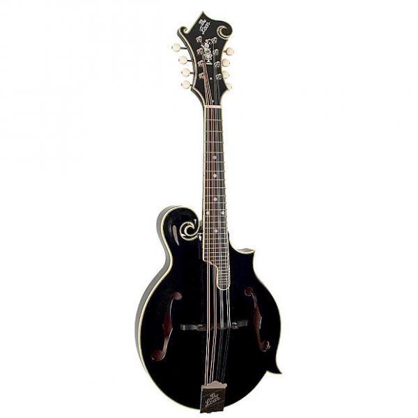 Custom The Loar LM-600 Professional Series Mandolin with Electronics, Black #1 image