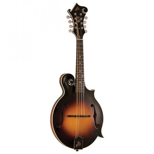Custom The Loar LM-375 Grassroots F-Style Mandolin with Electronics, Vintage Sunburst Matte #1 image