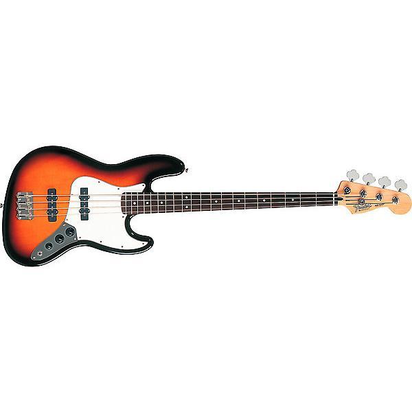 Custom Fender Standard Jazz Bass Guitar Rosewood Fretboard Brown Sunburst #1 image