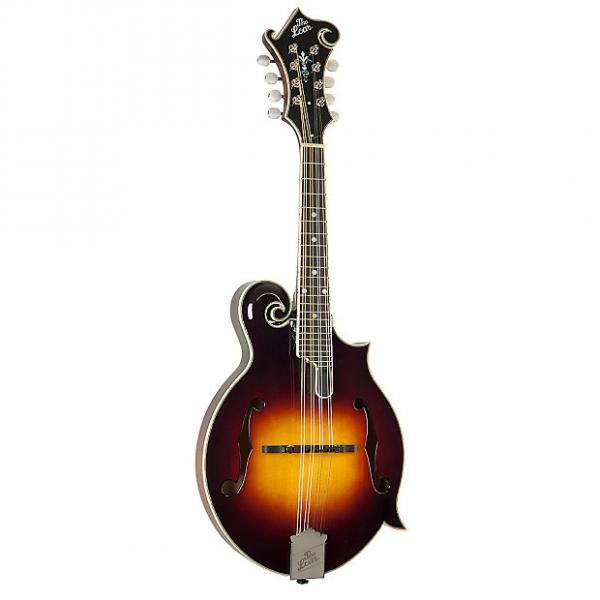 Custom The Loar LM-500 Contemporary F-Style Mandolin with Electronics, Vintage Sunburst #1 image