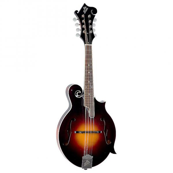 Custom The Loar LM-520 Performer F-Style Mandolin with Electronics, Vintage Sunburst #1 image