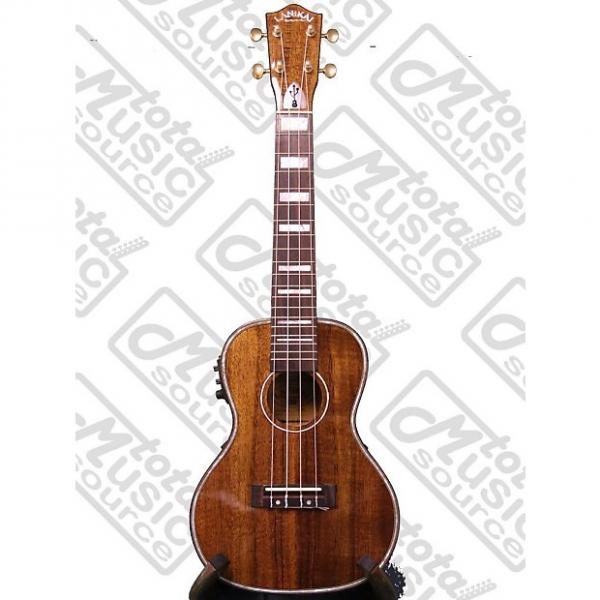 Custom Lanikai Hawaiin Concert Ukulele UkeSB, Hawaiin Koa, USB Equipped, LK-CEU #1 image