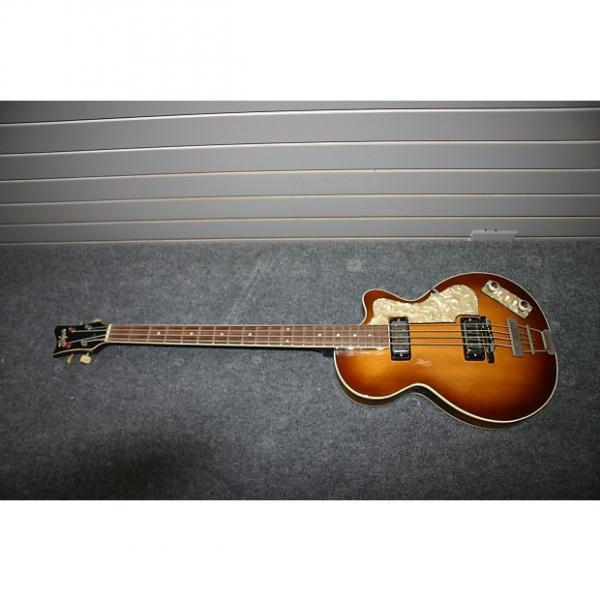 Custom Hofner Club Bass 1967 Antique Sunburst #1 image