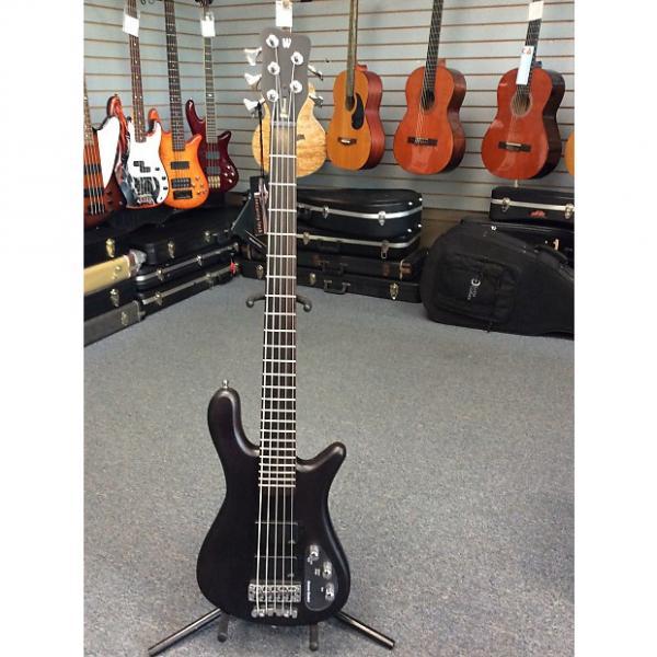 Custom Warwick Rockbass Streamer 5-String Standard Flat Black #1 image