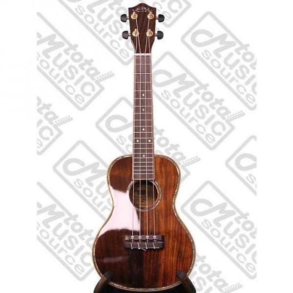 Custom Lanikai NKTU-C Solid Hawaiian Koa Concert TunaUke Ukulele #1 image
