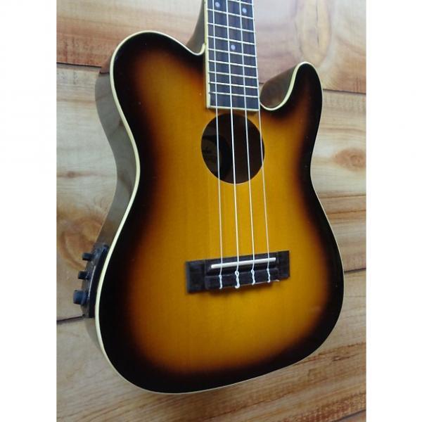 Custom New Fender® Ukulele '52 Concert Acoustic Electric Ukulele Vintage Sunburst #1 image