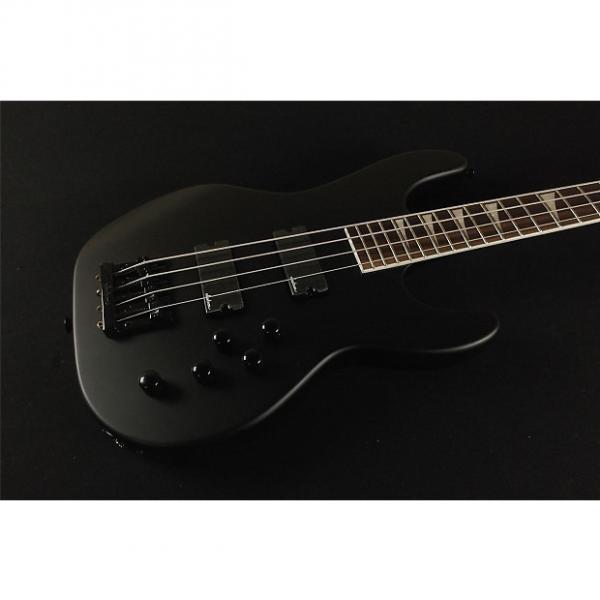Custom Jackson X Series Concert Bass CBXNT IV Rosewood Fingerboard Satin Black (703) #1 image