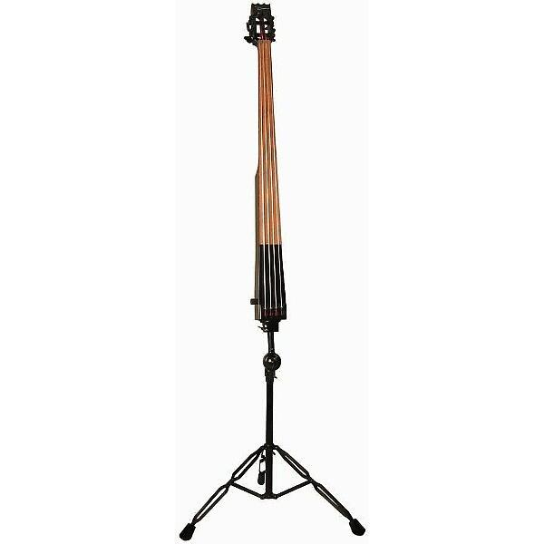Custom Dean PACEB-CBK Pace Upright Stand-Up Electric Bass - Classic Black with Case #1 image