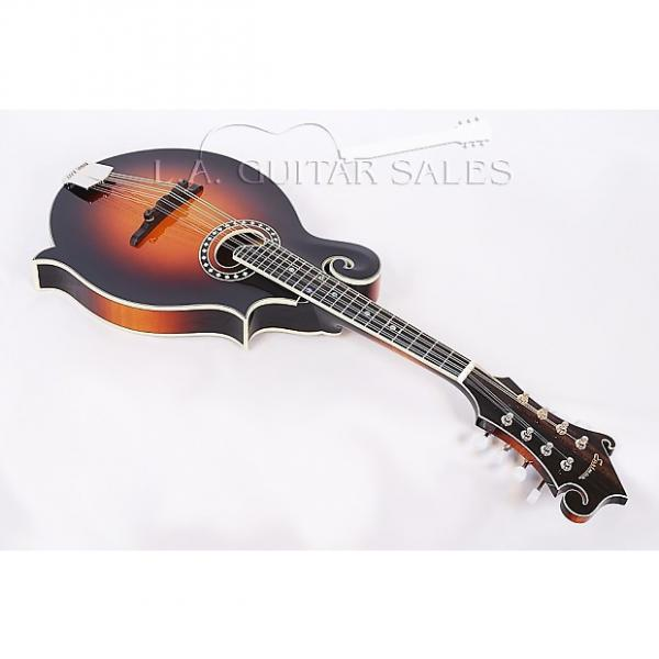 Custom Eastman MD614CE-SB Hand Carved Spruce & Maple F Style Mandolin With Oval Hole #52416 #1 image