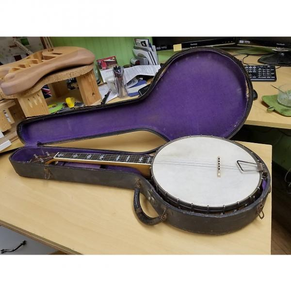 Custom Bacon & Day Tenor Banjo 1920s #1 image