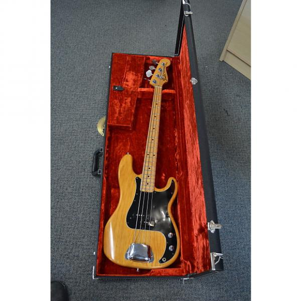 Custom Fender Precision Bass 1974 Natural gloss #1 image