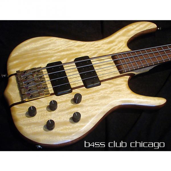 Custom Ken Smith BSR4MW Avodire top Bass Guitar #1 image