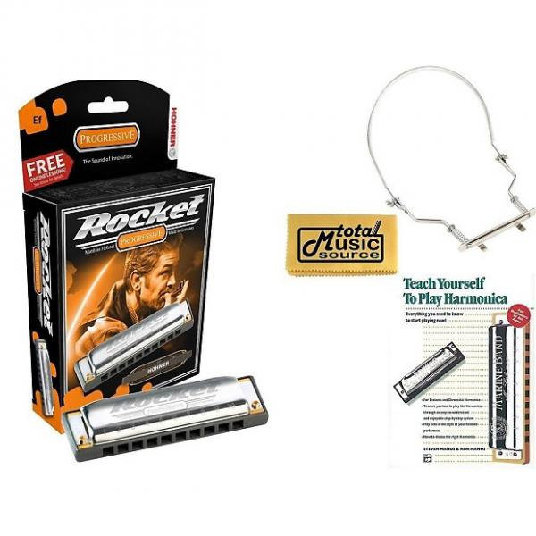 Custom Hohner Rocket Harmonica Boxed Key of EF, Case, Book, & Harmonica Holder, M2013BX-EF COMP #1 image
