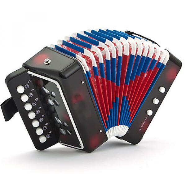 Custom SKY Accordion Black Color 7 Button 2 Bass Kid Music Instrument High Quality Easy to Play #1 image