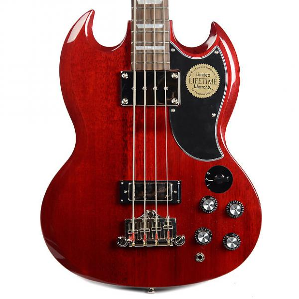 Custom Epiphone EB-3 Bass Cherry #1 image