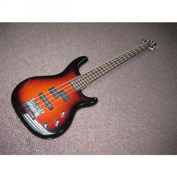 Custom CC .Clark Bass Guitar 2000-2016 Sunburst #1 image
