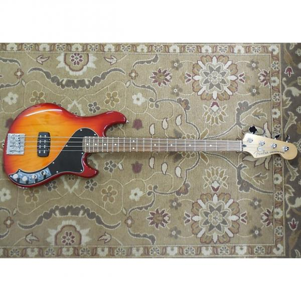Custom 2013 Fender Deluxe Dimension Bass IV in Aged Cherry Burst with Gig Bag and Professional Setup! #1 image
