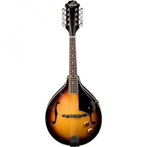 Custom Oscar Schmidt Acoustic/Electric A Style Mandolin, Spruce Top, Sunburst, OM10ETS #1 image