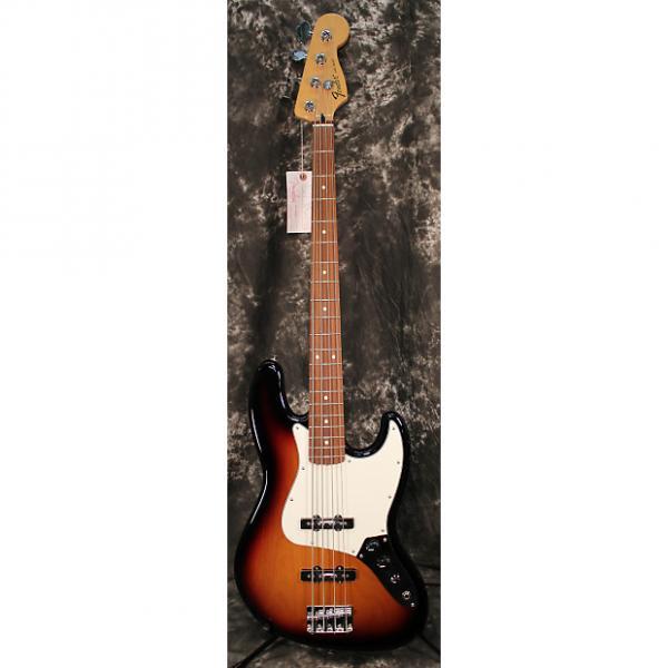 Custom 2013 Fender Standard Jazz Bass Guitar Brown Sunburst #1 image