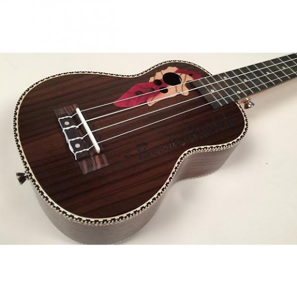 Custom '21 Rosewood Soprano Ukulele - Brand New Rosewood Beauty! With Gig Bag! #1 image