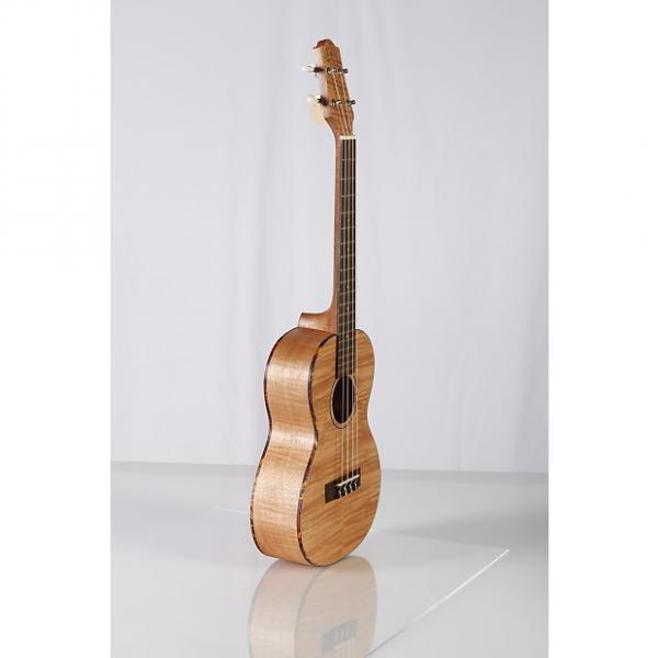 Custom New Tenor Ukulele Flamed Maple body w tortoise binding and Aquila strings #1 image