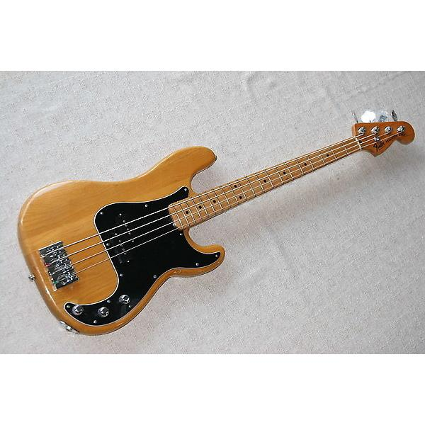 Custom Vintage 1977 Fender P Bass with custom modifications #1 image