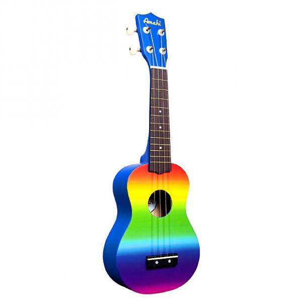 Custom Amahi Rainbow Soprano Ukulele DDUK1 #1 image