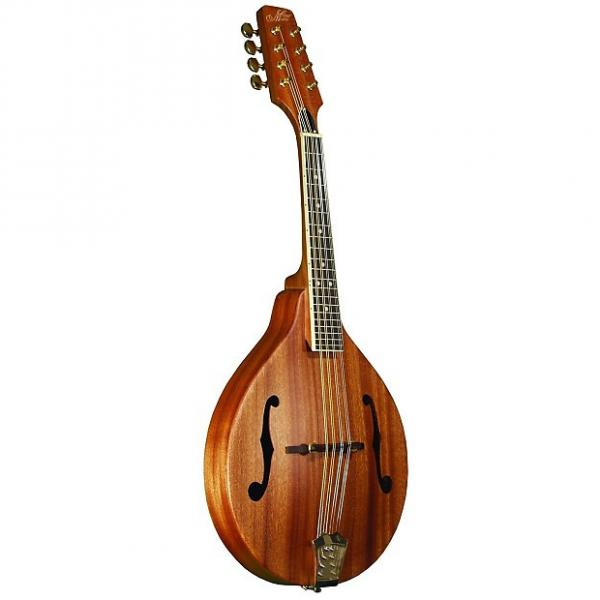 Custom Morgan Monroe A Style Mahogany Mandolin W/Case #1 image