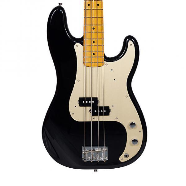 Custom Fender Classic Series '50s Precision 4 String Bass Black w/Case #1 image