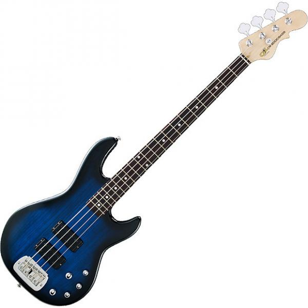 Custom G&L Tribute M-2000 Elecitrc Bass in Blue Burst! #1 image