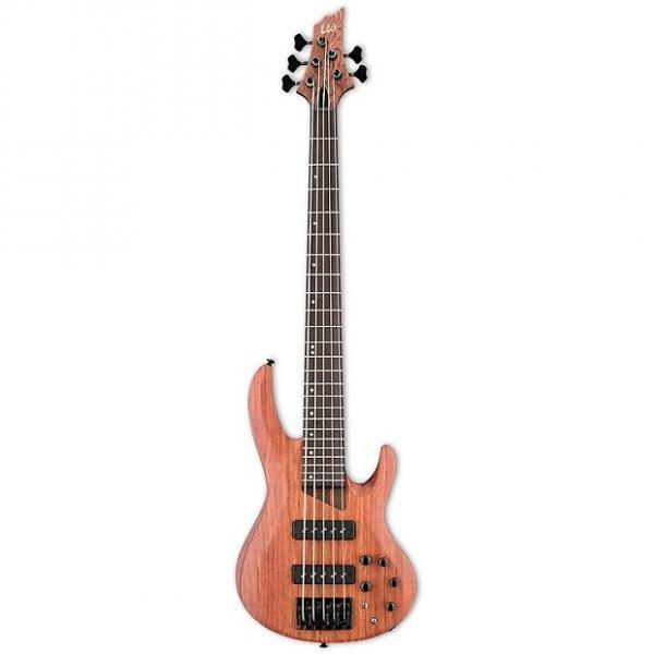 Custom ESP LTD B-1005SE - Bubinga Natural Satin #1 image
