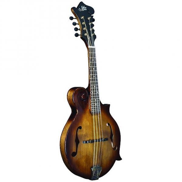 Custom Morgan Monroe F Style Walnut Finish Mandolin W/ Case #1 image