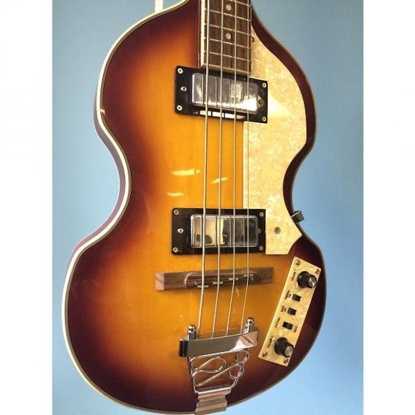 Custom Jay Turser JTB-2B  Series Electric Bass Guitar, Vintage Sunburst #1 image
