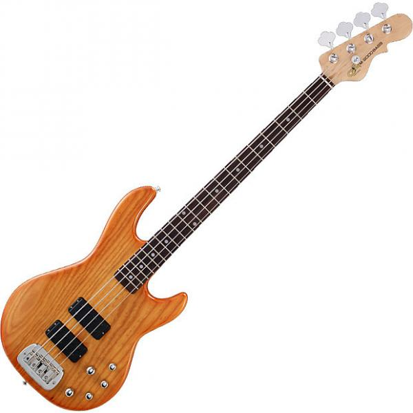 Custom G&L Tribute M-2000 Electric Bass in Honey Burst! #1 image