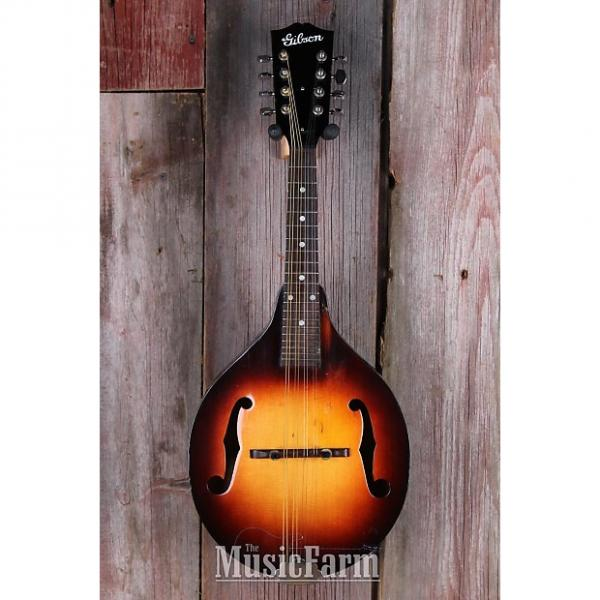 Custom Gibson A00 1940s Vintage Carved Spruce Top Mandolin A Style with Hardshell Case #1 image