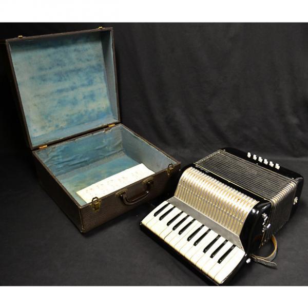 Custom Mid 1960's Salanti Student Level Accordion With Original Hard Case #1 image