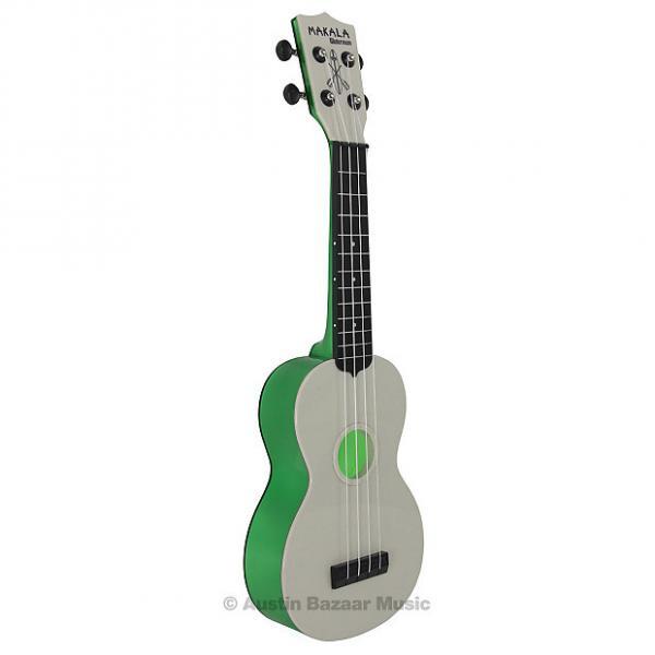 Custom Kala MK-SWT-GN Makala Waterman Soprano Ukulele - Translucent Green #1 image