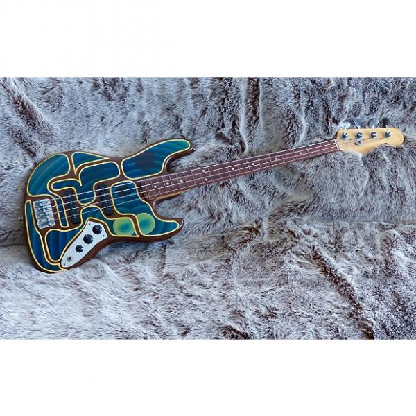 Custom Fender Jazz Bass 1965 Custom Finish - Stu Cook Creedence Clearwater Revival (Revisited) #1 image