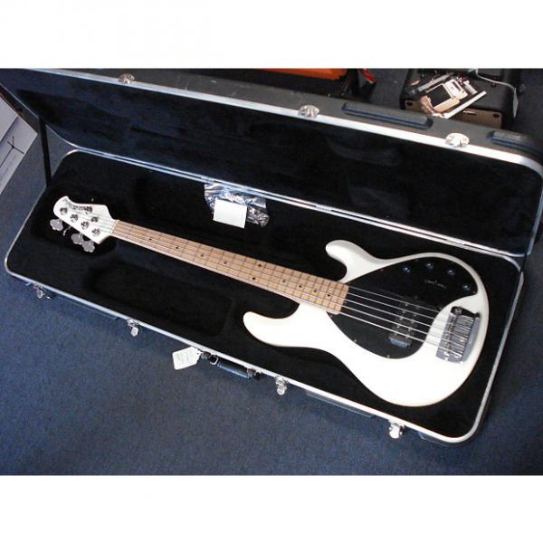 Custom Musicman Stingray 5 string bass with OHS case #1 image