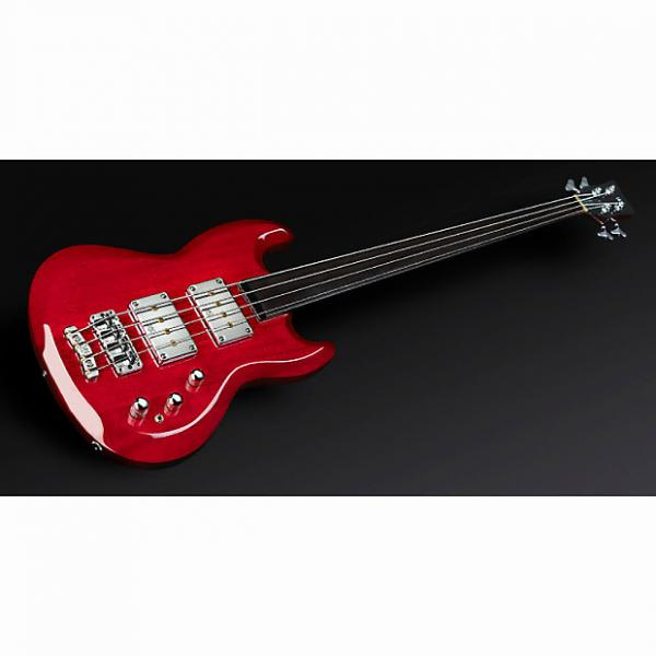 Custom Warwick Jack Bruce Signature Fretless 4-String Bass Burgundy Red High Polish #1 image