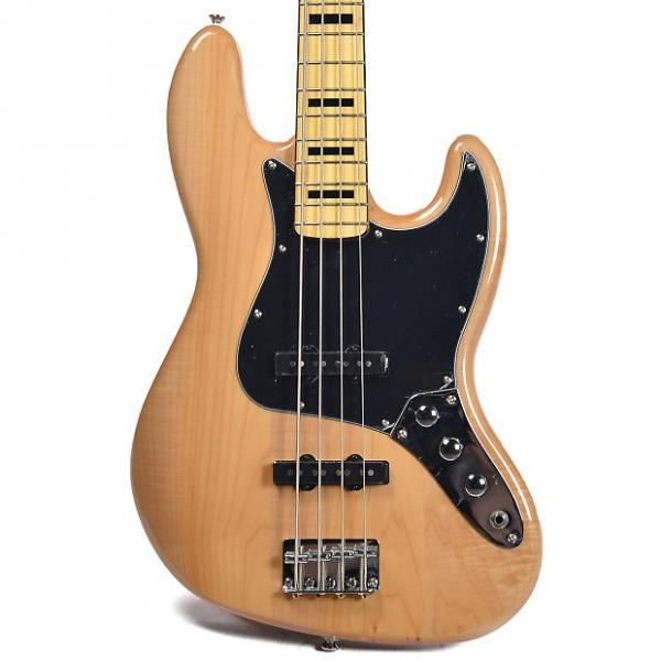 Custom Squier Vintage Modified Jazz Bass 70s Natural #1 image