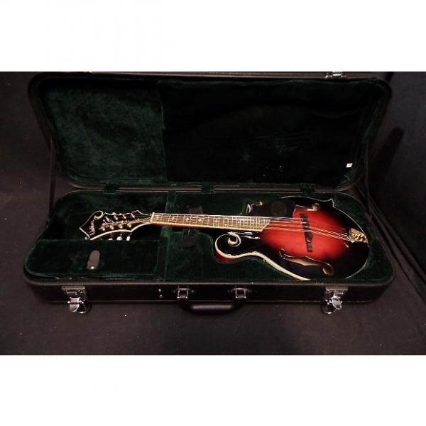 Custom Washburn M3SWETWRK Mandolin in Trans Wine Red & Case #0088 #1 image