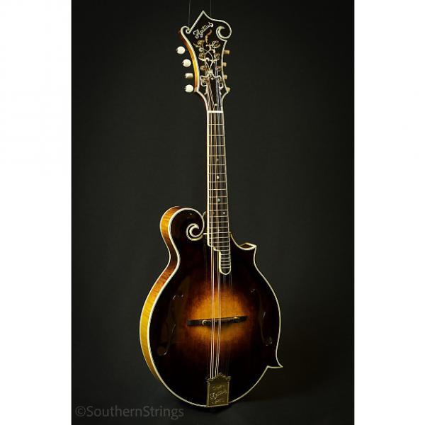 Custom Apitius Classic F-Style Mandolin - Black Cherry Sunburst #1 image