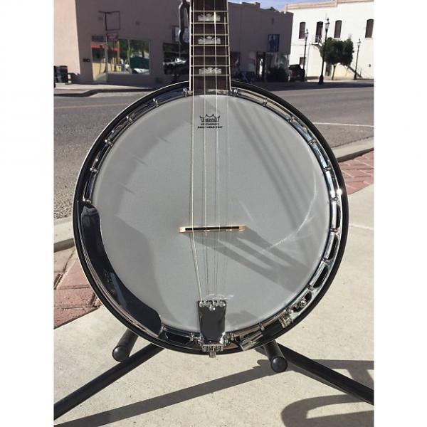Custom Fender Robert Schmidt 4 String  Closed Back Banjo #1 image