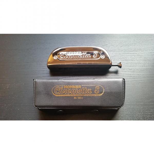 Custom Hohner 250/32 Chrometta 8 Chromatic Harmonica Key of C #1 image