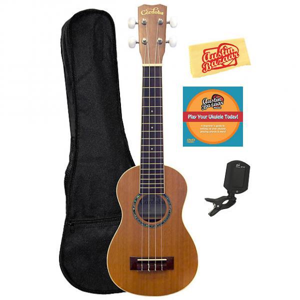 Custom Cordoba 15SM Soprano Ukulele w/ Gig Bag #1 image