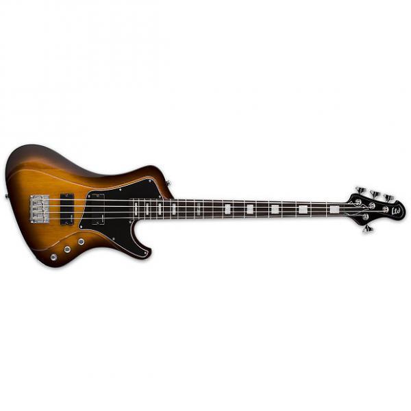 Custom ESP LTD Stream 204 Bass Guitar Tobacco Sunburst Mahogany Body 4-String Active EQ #1 image