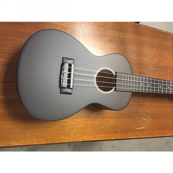 Custom Oscar Schmidt OU1CB Black Ukulele #1 image