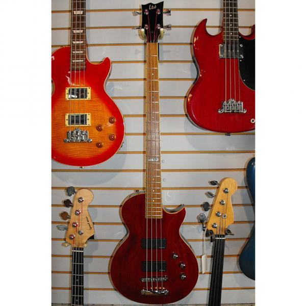 Custom ESP LTD EC-254 bass guitar 2004ish Cherry #1 image